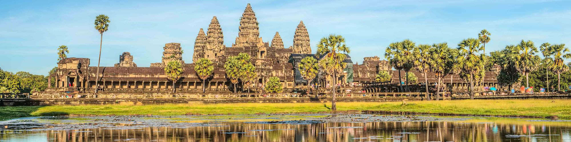 Kambodscha, Angkor Wat, Temple