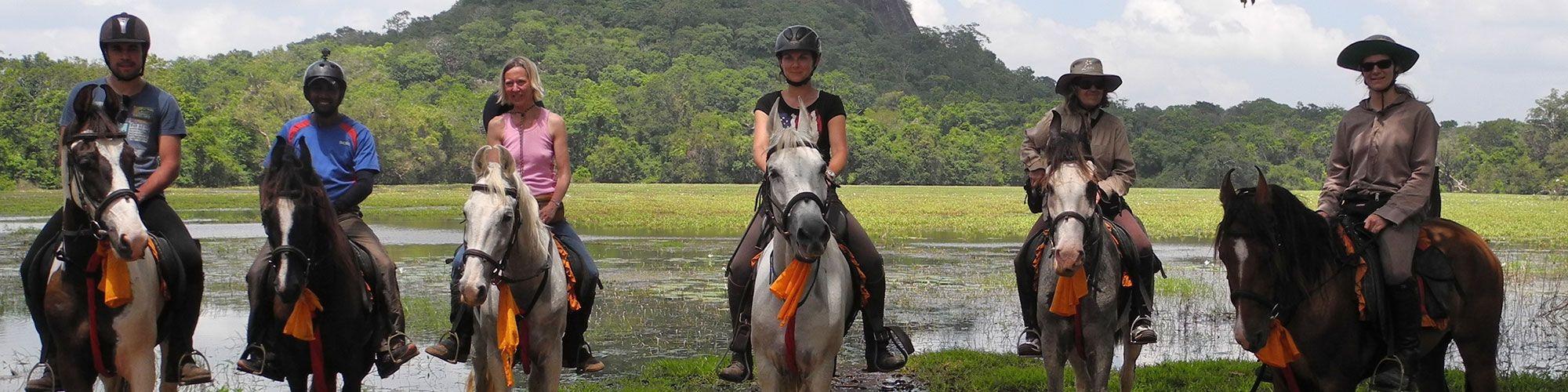 Horseriders, Sigiriya, Sri Lanka