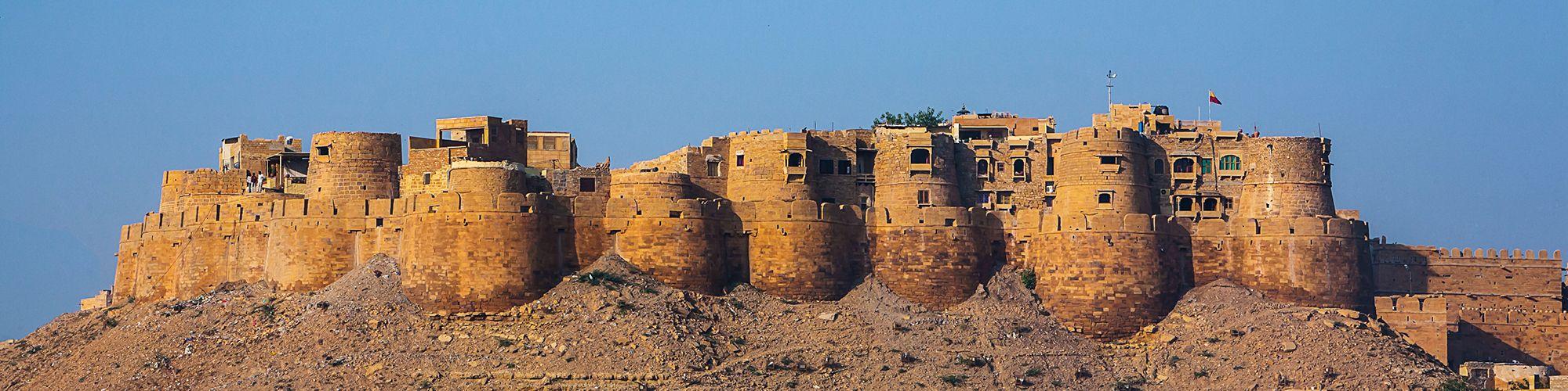 Fort, Jaisalmer, Rajasthan, India