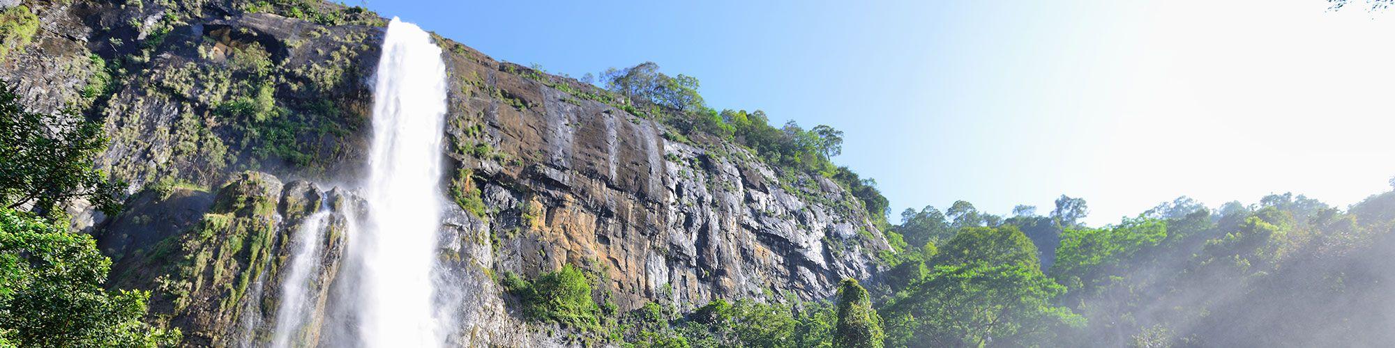 Sri Lanka, Wasserfall, Wanderung