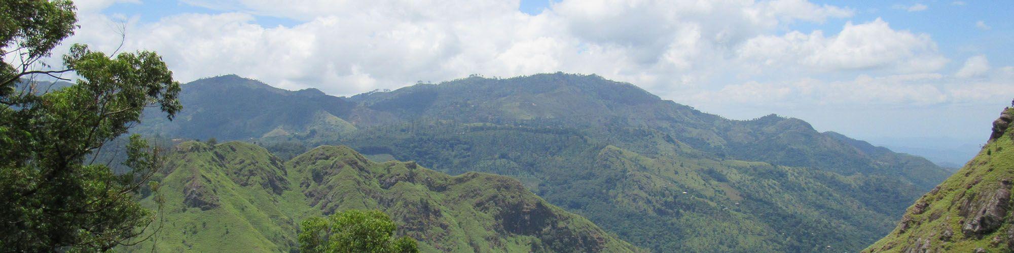 Sri Lanka, Ella, Felsen, Aussicht