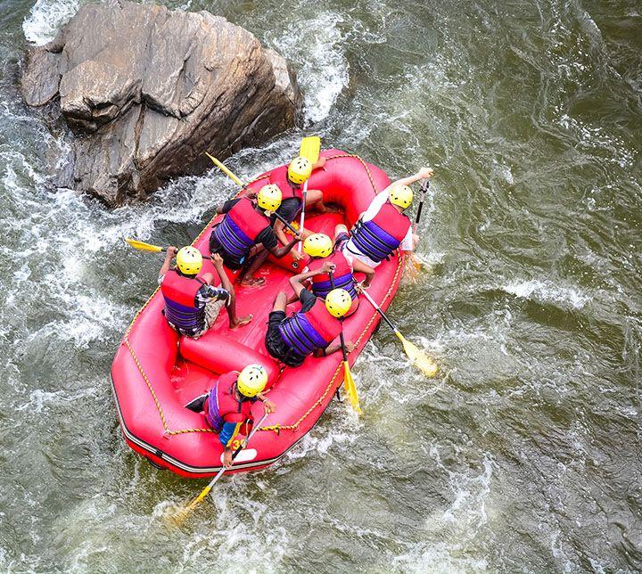Sri Lanka, Rafting, Ausflug, Kitulgala