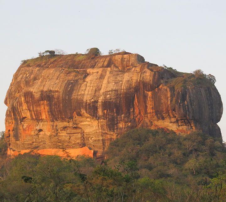 Sri Lanka, Sigiriya Felsen
