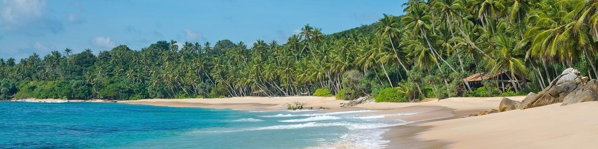 Sri Lanka, Süden, Strand, Bentota