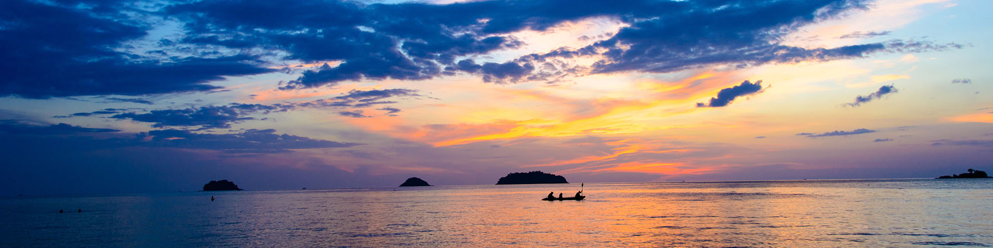 Thailand, Sonnenuntergang, Koh Chang