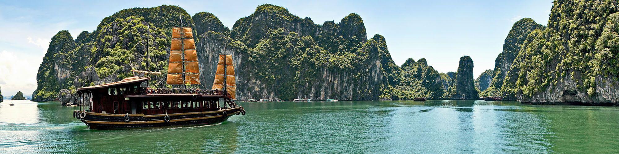 Vietnam, Ha Long Bucht, Junk