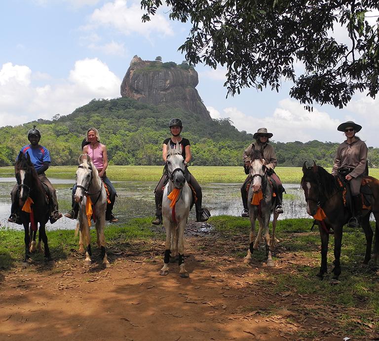 Reiten in Sri Lanka